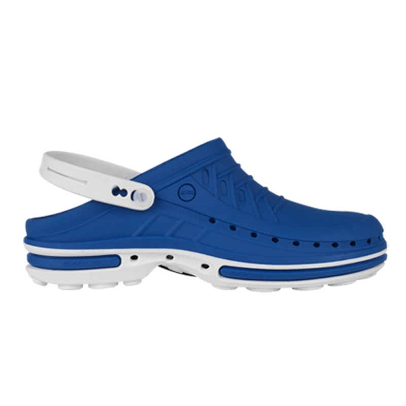Wock Clog weiss/medium blue