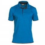 DASSY zweifarbiges Polo-Shirt ORBITAL
